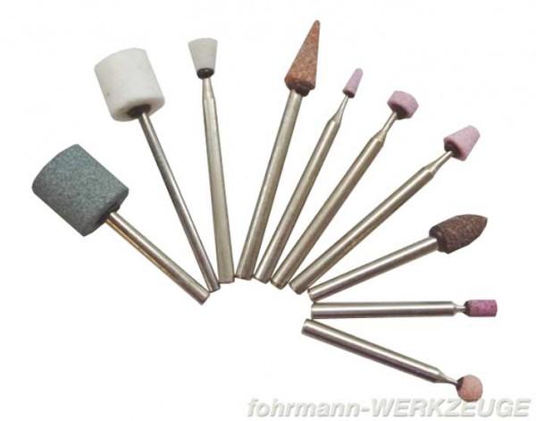 SET: Schleif- und Polierstifte - 10 teilig