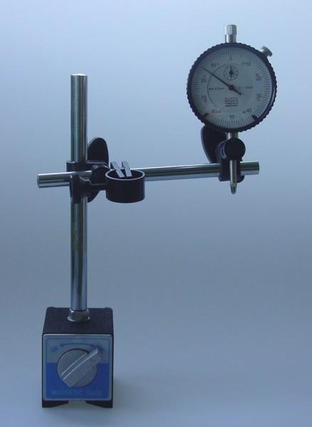 Magnet Messstativ inklusive Messuhr