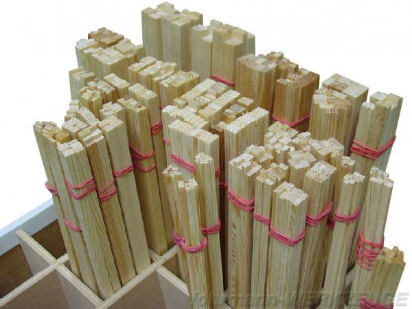 Holzleisten rechteckig Kiefer (Rechteckleisten)