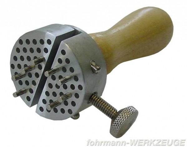 Werkstückhalter Ø 50 mm mit Holzgriff