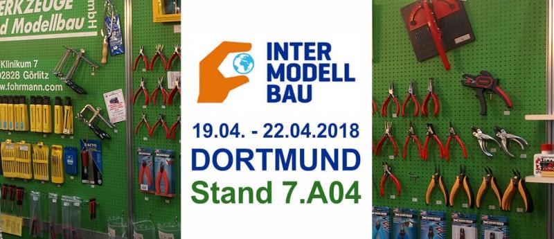 Fohrmann Werkzeuge bei der Intermodellbau in Dortmund Halle 7 Stand A04