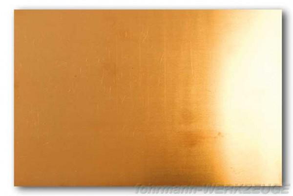 Phosphor Bronze Blech federhart (versch. Stärken)