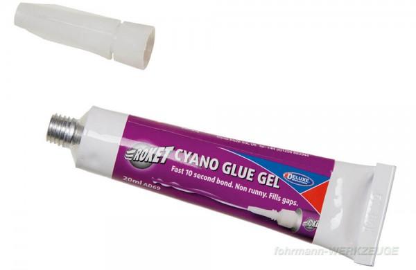 Roket Cyano Glue Gel - Sekundenklebstoff