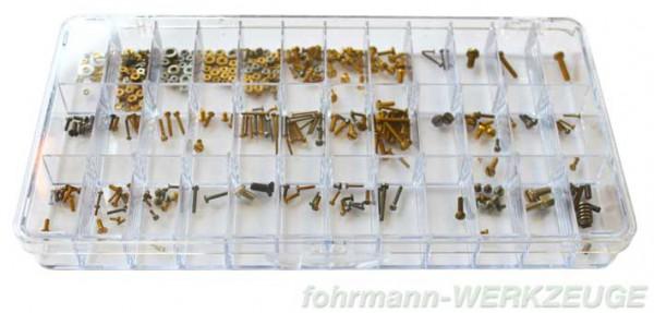 Schrauben Sortimentskasten aus Kunststoff