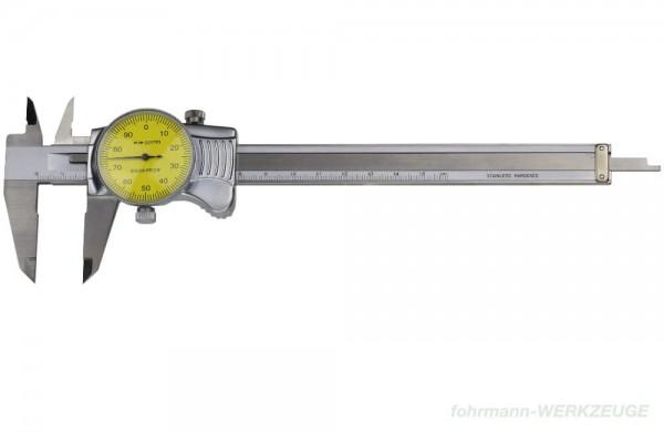 Präzisions-Uhrmessschieber 150 mm