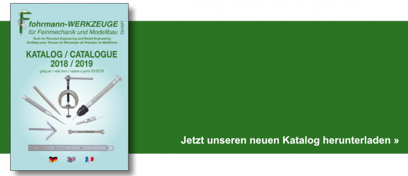 Unser neuer Fohrmann Werkzeuge Katalog als PDF downloaden