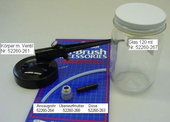 Ersatzteile für Mini-Sandstrahlgerät