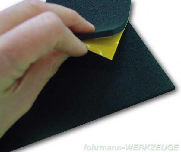 Zellkautschuk Platten selbstklebend A4 (versch. Stärken)