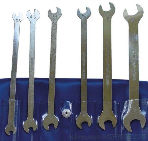 SET: Doppelmaulschlüssel dünne Ausführung
