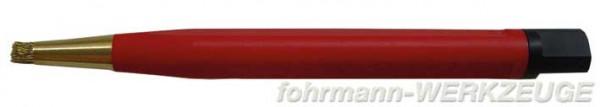 Radierer mit Messingdrahtpinsel - Durchmesser 4 mm