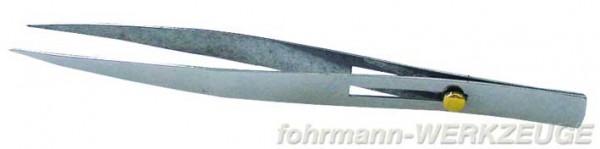 Werkzeugpinzette mit Schieber 120 mm