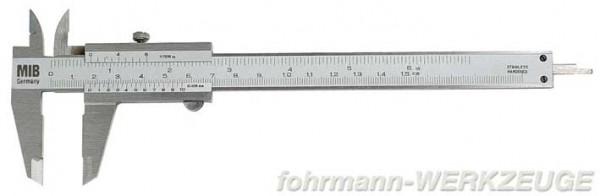 Taschenmessschieber (Schieblehre) 150 mm rostfrei