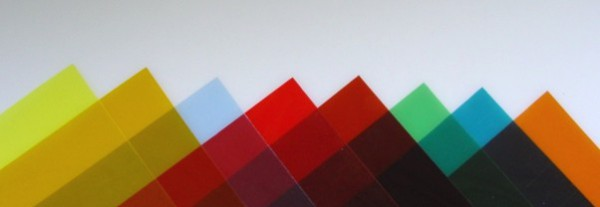 Farbfolien A5 sortiert (8 Stück)