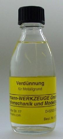 Verdünnung für Metallgrund