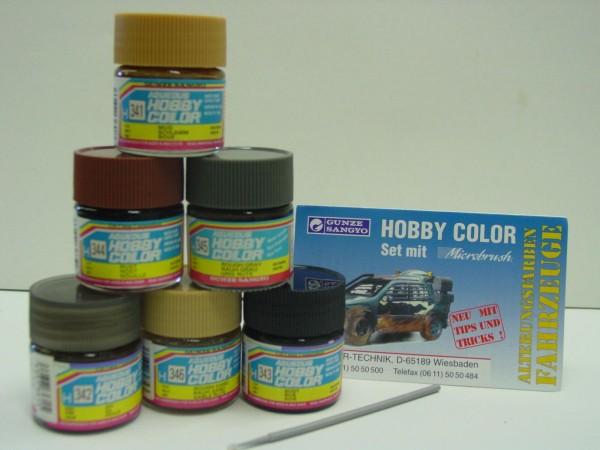 Alterungsfarben für Fahrzeuge
