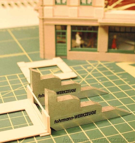 Modellbau Montagewinkel zum Festklemmen