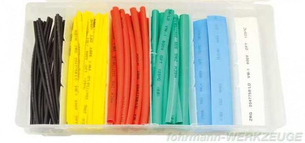Schrumpfschlauch Set farbig in Box (versch. Ø)