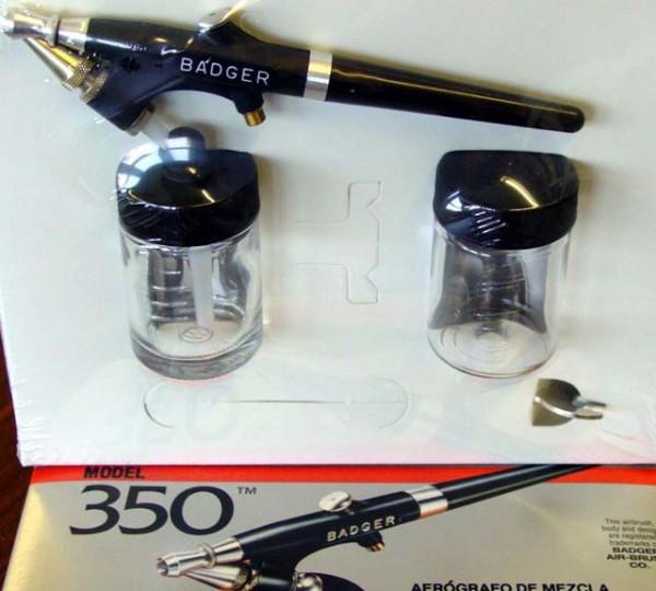 Mini-Spritzgriffel Badger 350